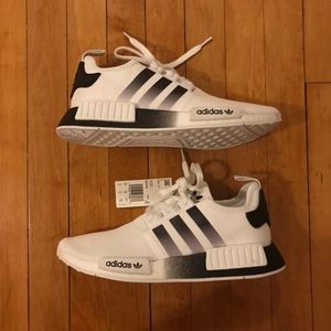 Other - Adidas Boost NMD R1 White Black Gradient